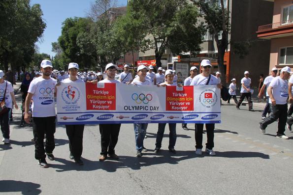Olimpik Gün Yürüyüşü 12