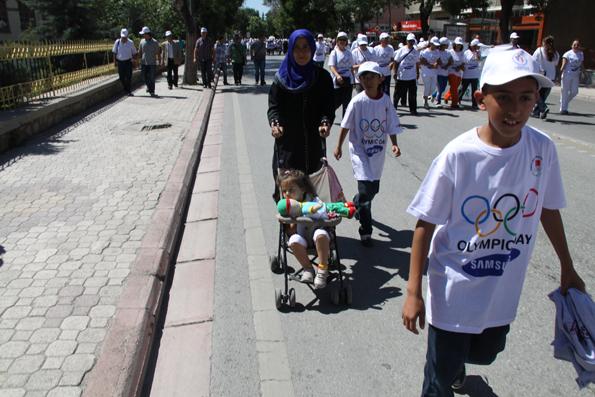 Olimpik Gün Yürüyüşü 13