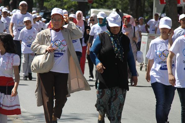 Olimpik Gün Yürüyüşü 14