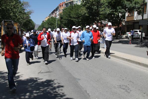 Olimpik Gün Yürüyüşü 16