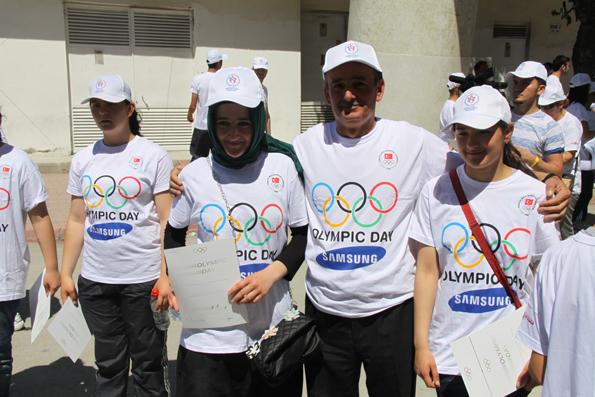 Olimpik Gün Yürüyüşü 18