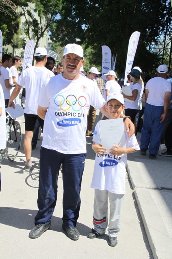 Olimpik Gün Yürüyüşü 19