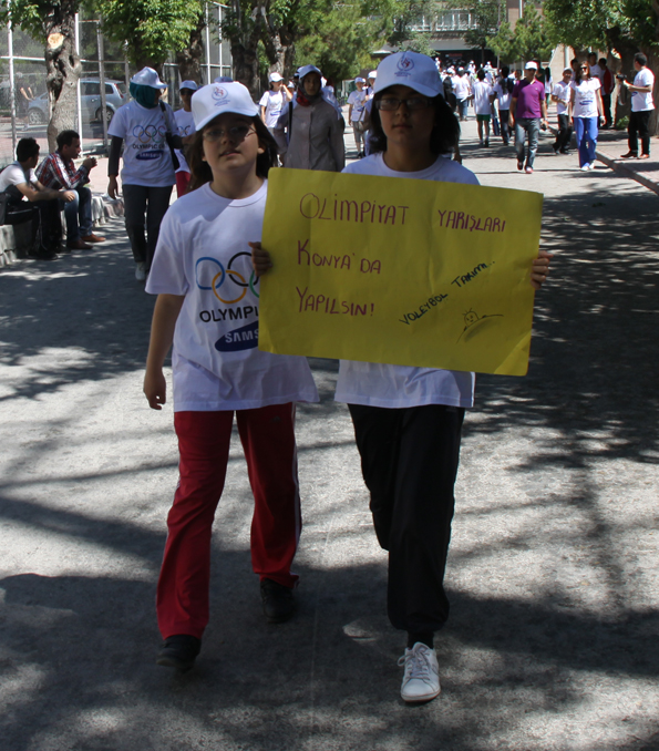 Olimpik Gün Yürüyüşü 20
