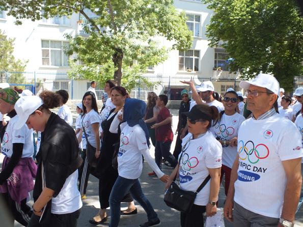 Olimpik Gün Yürüyüşü 5