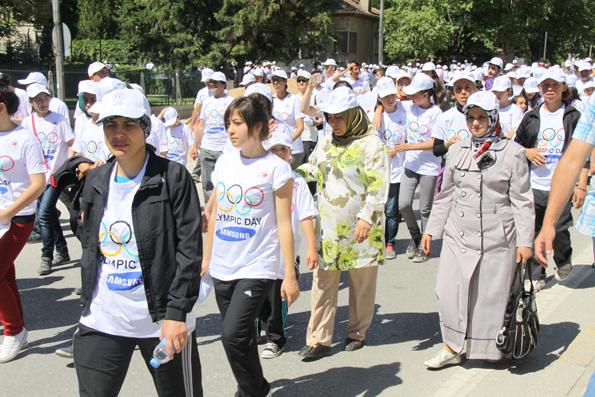 Olimpik Gün Yürüyüşü 9