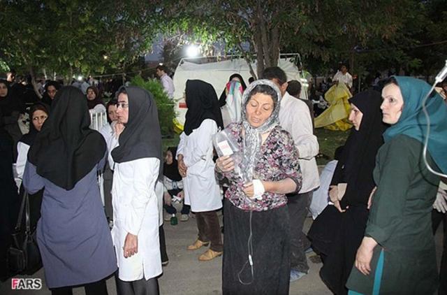 İranda deprem 2