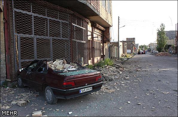 İranda deprem 5