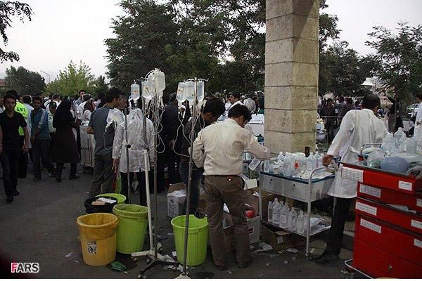 İranda deprem 6