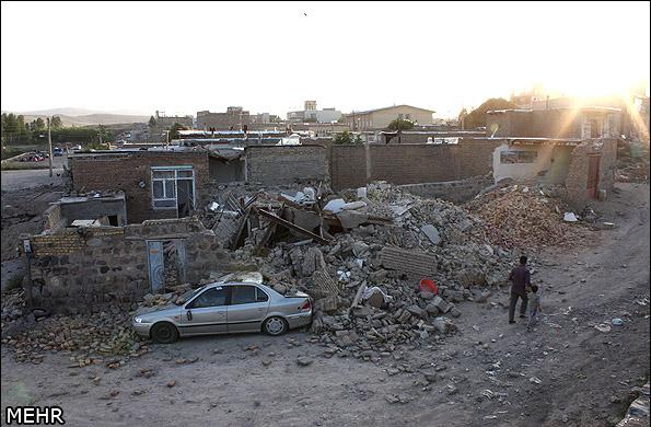 İranda deprem 7