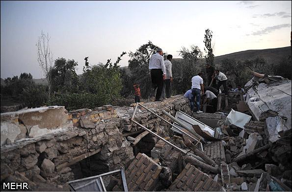 İranda deprem 8