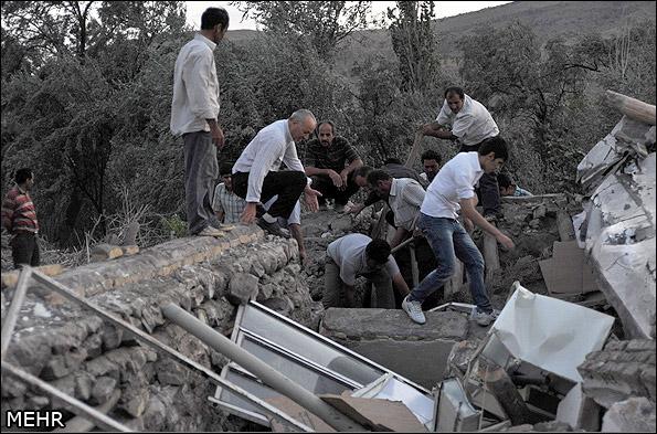 İranda deprem 9