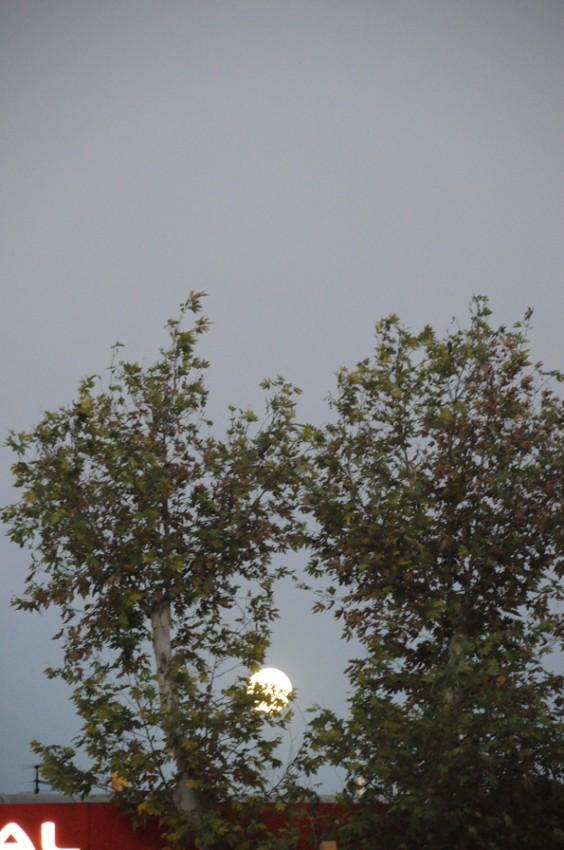 Kadı İzzeddin minaresinden dolunay 3