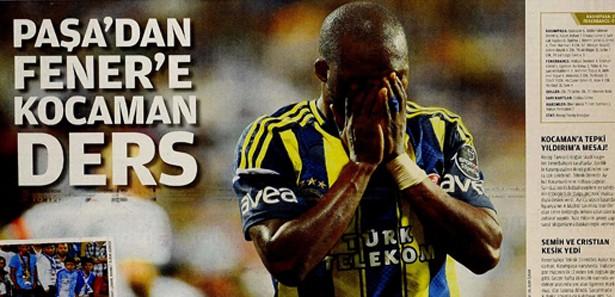 Basında Kasımpaşa-Fenerbahçe manşetleri 4