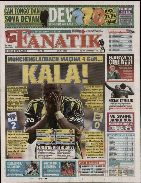 Basında Kasımpaşa-Fenerbahçe manşetleri 9