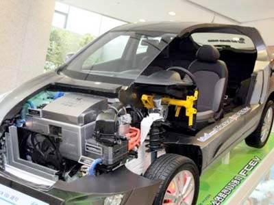 Yakıt cimrisi hifrojen otomobil 11