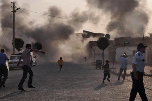 Suriye bombası Şanlıurfaya düştü! 3