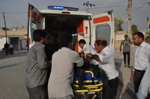 Suriye bombası Şanlıurfaya düştü! 5