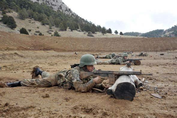 Rakamlarla Türk ve Suriye ordusu 1