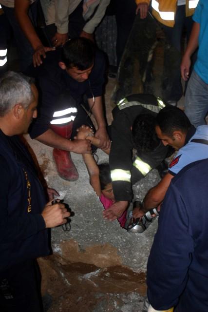 Direk çukuru genç kızı öldürüyordu 8