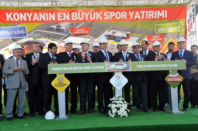 Yeni stadyumun temelli atıldı 5