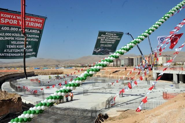 Yeni stadyumun temelli atıldı 6