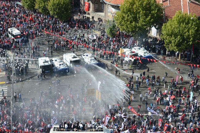 Ankarada ortalık böyle karıştı 1