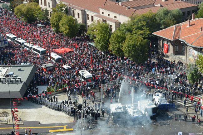 Ankarada ortalık böyle karıştı 5