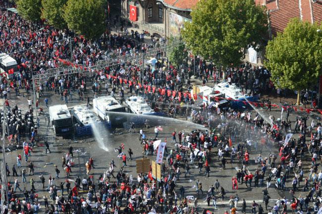 Ankarada ortalık böyle karıştı 6
