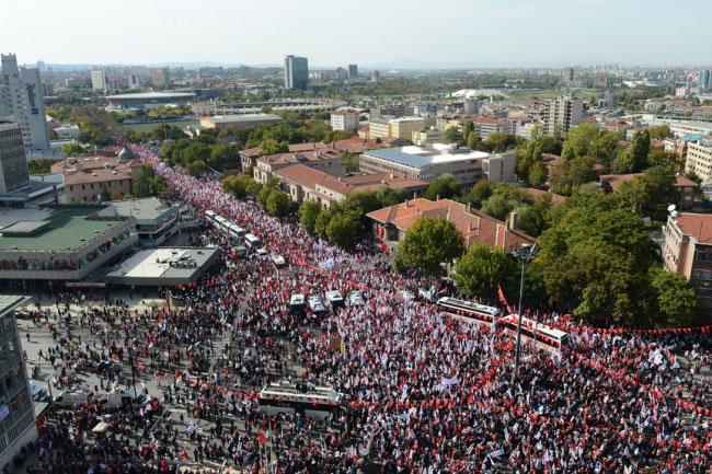 Ankarada ortalık böyle karıştı 7