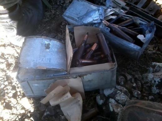 Hakkaride PKK cephaneliğinden Doçka çıktı 2