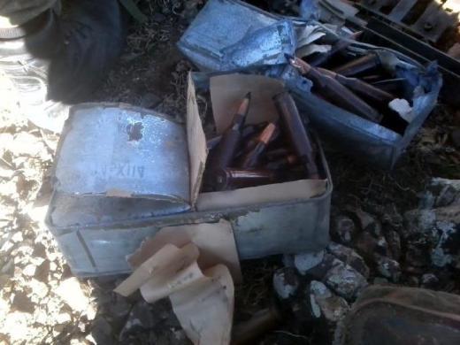 Hakkaride PKK cephaneliğinden Doçka çıktı 6