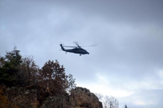 Düşen helikopterden ilk görüntüler 13