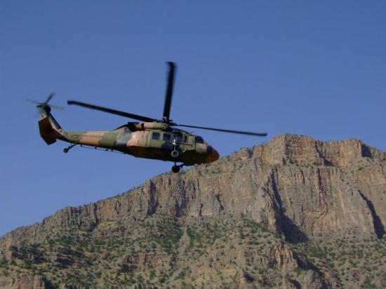 Düşen helikopterden ilk görüntüler 14