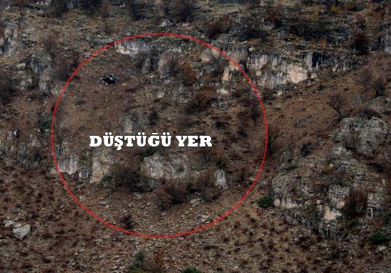 Düşen helikopterden ilk görüntüler 3