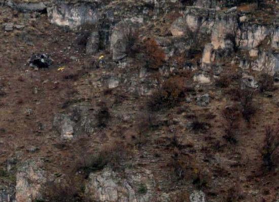 Düşen helikopterden ilk görüntüler 6