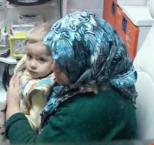 1 yaşındaki Ömerin ağlaması ailesini kurtardı 5