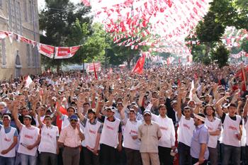 Saadet Partisi Konya Mitingi 2011 12