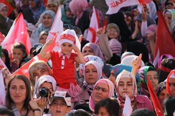 Saadet Partisi Konya Mitingi 2011 13
