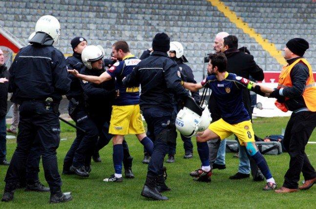 Ankaragücü - Torku Konyaspor maçında olay 12