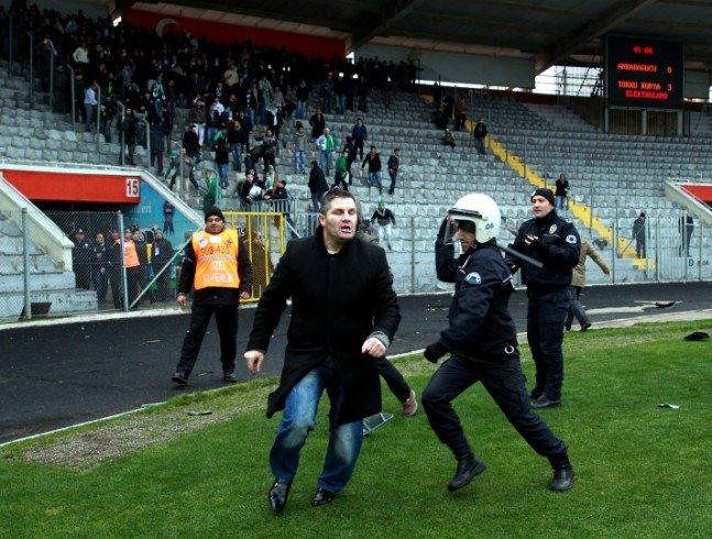 Ankaragücü - Torku Konyaspor maçında olay 14