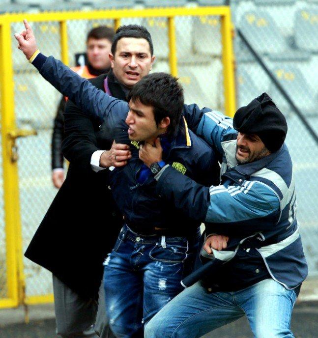 Ankaragücü - Torku Konyaspor maçında olay 2