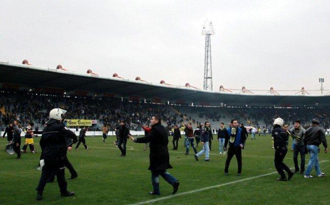 Ankaragücü - Torku Konyaspor maçında olay 3