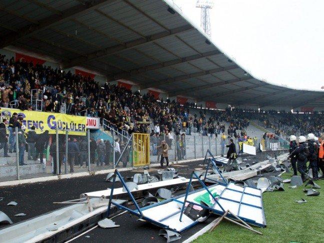 Ankaragücü - Torku Konyaspor maçında olay 4