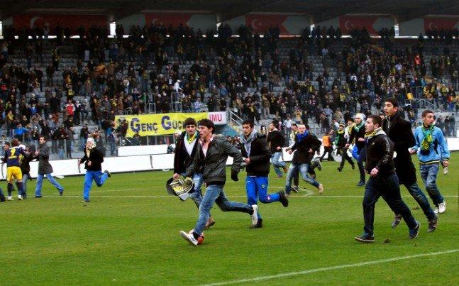 Ankaragücü - Torku Konyaspor maçında olay 6