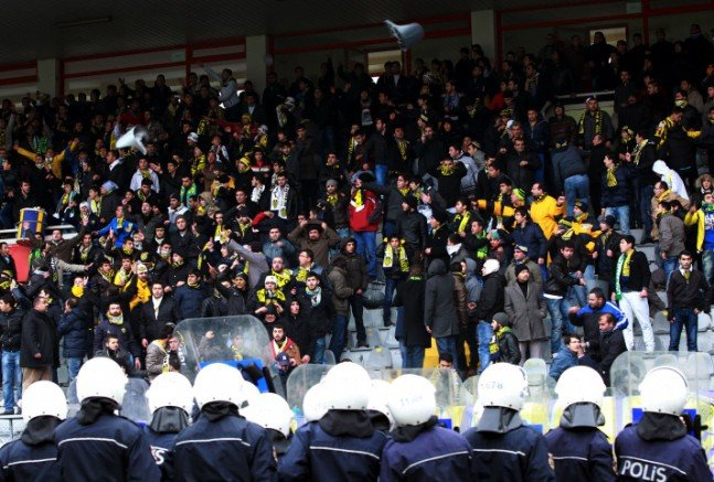 Ankaragücü - Torku Konyaspor maçında olay 8