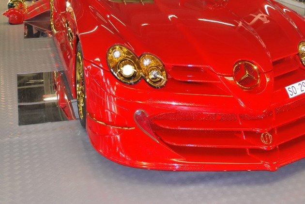 Altın kaplama Mercedesin müthiş özelliği 11