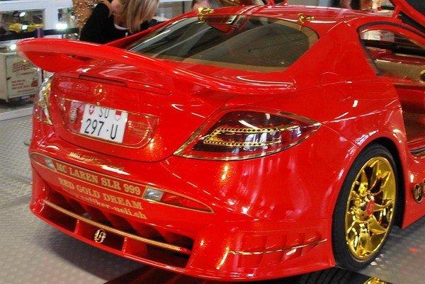 Altın kaplama Mercedesin müthiş özelliği 6