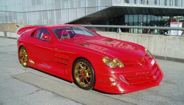 Altın kaplama Mercedesin müthiş özelliği 8