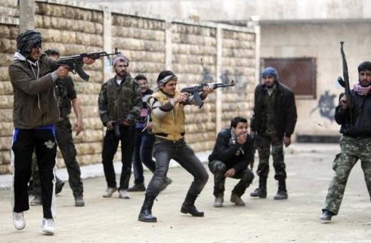 Halepten tüyler ürperten çatışma görüntüleri 1
