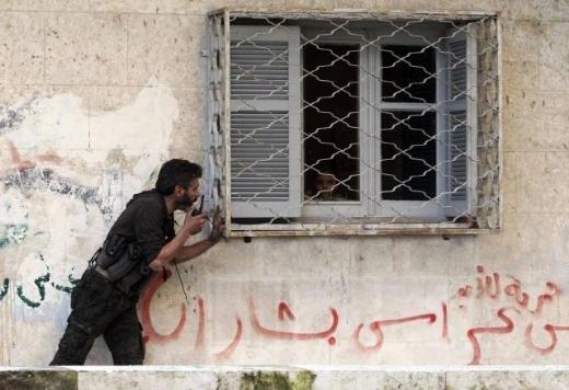 Halepten tüyler ürperten çatışma görüntüleri 11